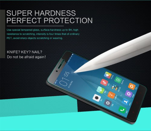 Фото Защитное стекло Nillkin Anti-Explosion Glass Screen (H) для Xiaomi Redmi Note 2 / Redmi Note 2 Prime в магазине itsell.ua