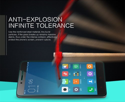 Защитное стекло Nillkin Anti-Explosion Glass Screen (H) для Xiaomi Redmi Note 2 / Redmi Note 2 Prime в магазине itsell.ua