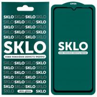 Защитное стекло SKLO 5D (full glue) для Samsung Galaxy A20 / A30 / A30s / A50 / A50s / M30 /M30s/M31