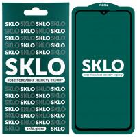 Защитное стекло SKLO 5D (full glue) для Xiaomi Redmi Note 8 Pro