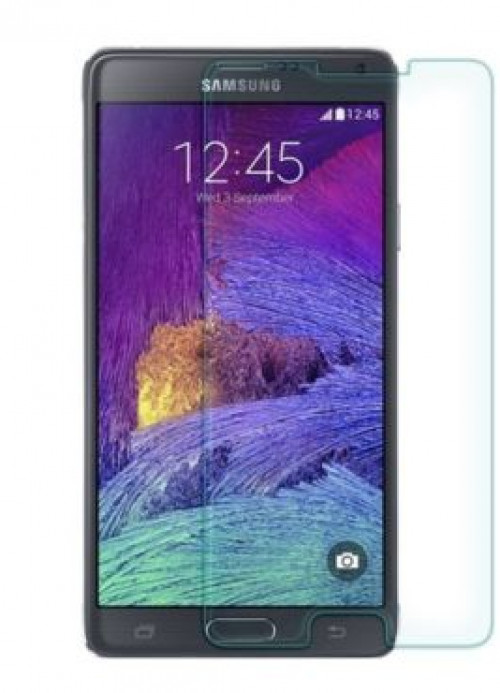 Защитное стекло Ultra Tempered Glass 0.33mm (H+) для Samsung N910H Galaxy Note 4 (карт. уп-вка)