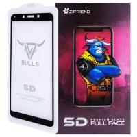 Защитное стекло Zifriend 5D (full glue) для Xiaomi Redmi 6 / Redmi 6A