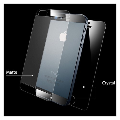 Фото Защитная пленка SGP Steinheil Ultra Crystal Mix Series (на обе стороны) для Apple iPhone 5/5S/SE Ultra Crystal Mix / SGP09590 на itsell.ua