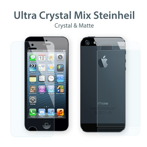 Защитная пленка SGP Steinheil Ultra Crystal Mix Series (на обе стороны) для Apple iPhone 5/5S/SE Ultra Crystal Mix / SGP09590 в магазине itsell.ua