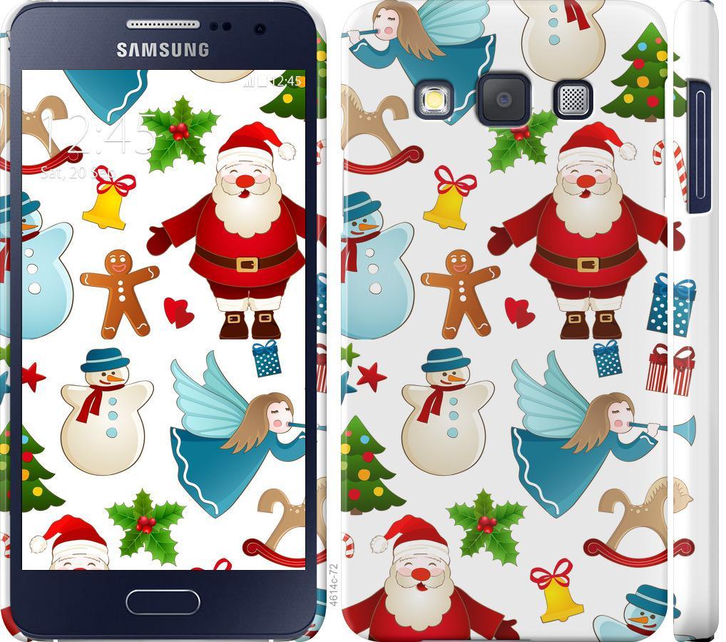 Чехол на Samsung Galaxy A3 A300H Новогодний 1