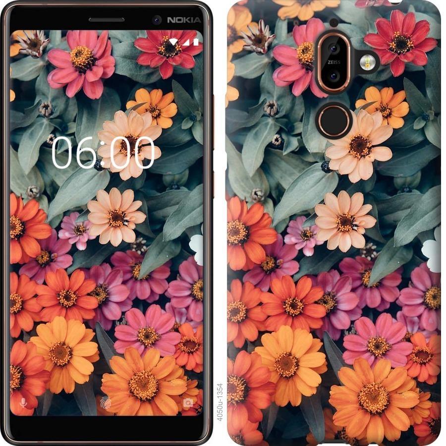 Чехол на Nokia 7 Plus Beauty flowers