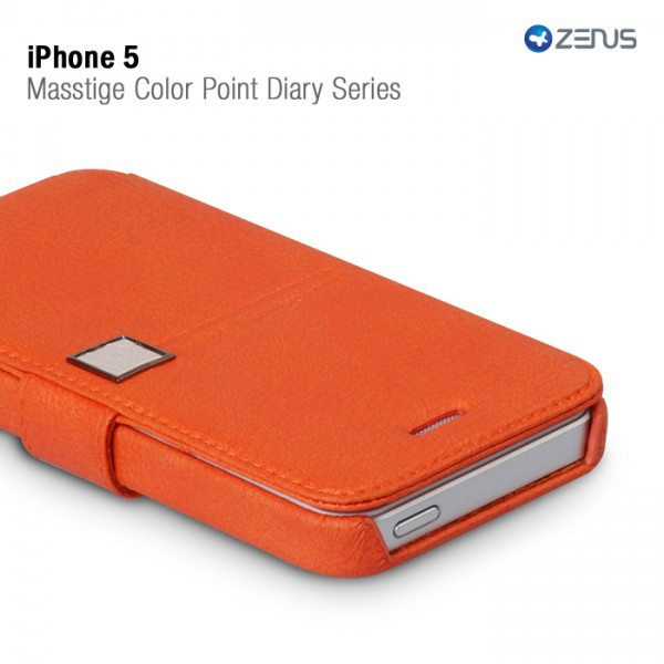 Кожаный чехол Zenus Masstige Color Point Diary Series для Apple iPhone 5 в магазине itsell.ua