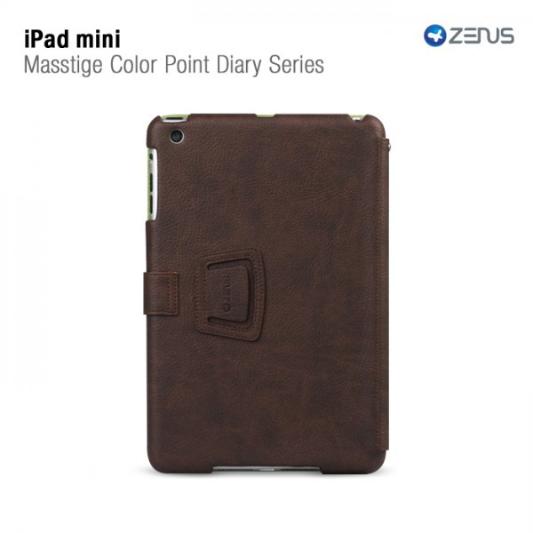 Фото Кожаный чехол Zenus Masstige Color Point Folio Series для Apple IPAD mini на itsell.ua