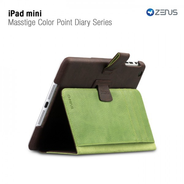Кожаный чехол Zenus Masstige Color Point Folio Series для Apple IPAD mini на itsell.ua