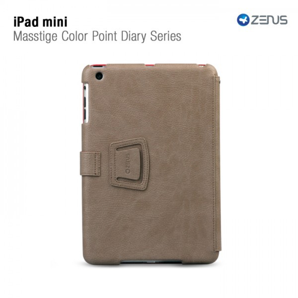 Купить Кожаный чехол Zenus Masstige Color Point Folio Series для Apple IPAD mini на itsell.ua
