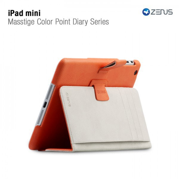 Заказать Кожаный чехол Zenus Masstige Color Point Folio Series для Apple IPAD mini на itsell.ua