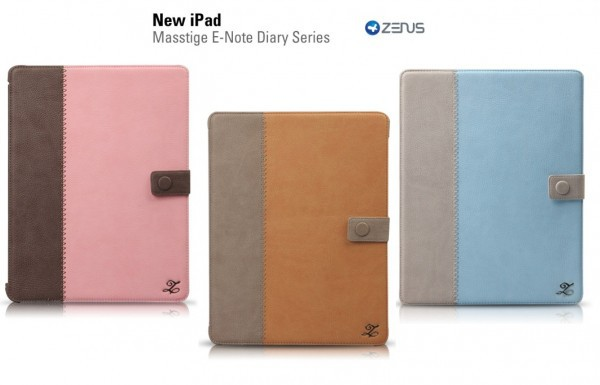 Купить Кожаный чехол Zenus Masstige E-note Diary Series для Apple IPAD 3/2 за 599 грн