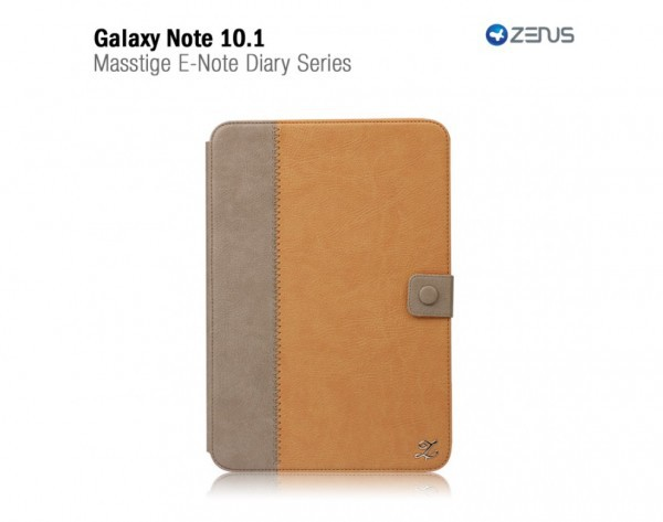 Купить Чехол Zenus Masstige E-note Diary для Samsung N8000 Galaxy Note 10.1 +  Защитная пленка ROCK для Samsung Galaxy Note 10.1 N8000 за 999 грн
