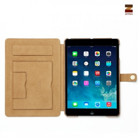 Фото Кожаный чехол Zenus Prestige Vintage with Signage Series для Apple IPAD AIR на itsell.ua