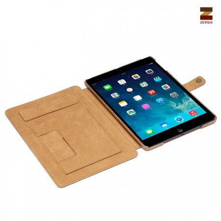Фото Кожаный чехол Zenus Prestige Vintage with Signage Series для Apple IPAD AIR в магазине itsell.ua