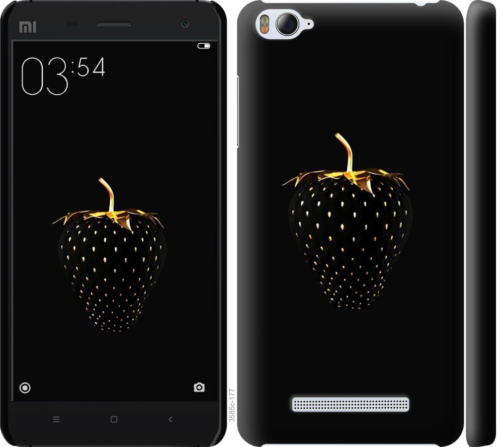 Чехол на Xiaomi Mi4i Черная клубника
