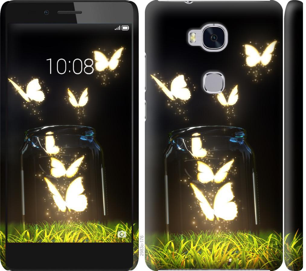 Чехол на Huawei Honor 5X Бабочки